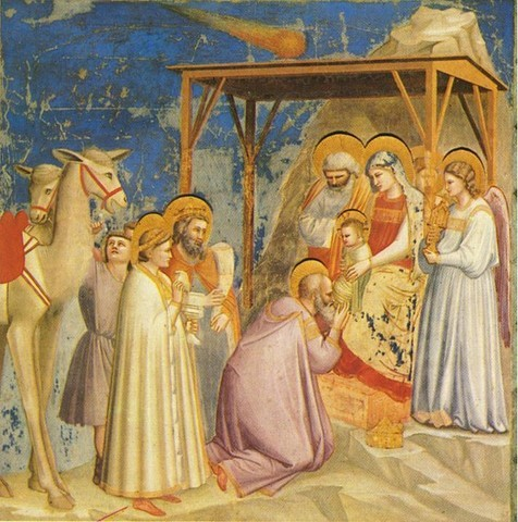 Giotto - Pintor do período gótico italiano (1267-1337)